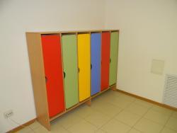 Шкафы для раздевания 6-секц.
